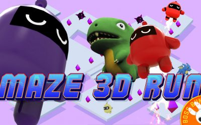 BossBunny Launches Latest Hyper Casual Game – Maze 3D Run!