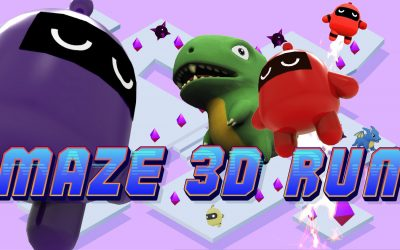 Maze 3D Run – Escape the Maze!